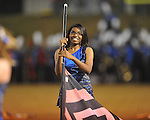 Water Valley band member Audrey Jones vs. Aberdeen in Water Valley, Miss. on Friday, October 21, 2011.