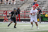 College Park, MD - May 14, 2017: Maryland Terrapins Tim Rotanz (7) passes the ball during the NCAA first round game between Bryant and Maryland at  Capital One Field at Maryland Stadium in College Park, MD.  (Photo by Elliott Brown/Media Images International)