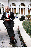 FEDERICO FELLINI, FILM DIRECTOR © Leonardo Cendamo