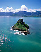 Chinaman's Hat, Kaneohe Bay, Kaneohe, Oahu, Hawaii, USA<br />