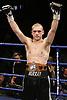 November 9th 2007 - John Murray celebrates after stopping Dean Hickman at the Ice Arena, Nottingham, England