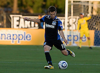 Bobby Convey of Earthquakes in action during the game against DC United at Buck Shaw Stadium in Santa Clara, California on July 30th, 2011.   DC United defeated San Jose Earthquakes, 2-0.