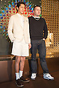 March 16, 2012, Tokyo, Japan - Actor Kento Nagayama (left) and Kim Jones (right) attend a photo call for a Kim Jones event at the Louis Vuitton store in Roppongi Hills. (Photo by Christopher Jue/AFLO)