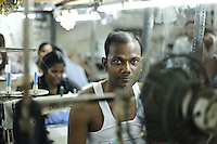 Sweatshop in Dharavi Slum, Mumbai 2011
