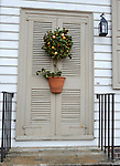 "Christmas door and wreath Colonial Williamsburg Virginia,wreath, door, Christmas wreath, Colonial Williamsburg Virginia is historic district 1699 to 1780 which made colonial Virgnia's Capital, for most of the 18th century Williamsburg was the center of government education and culture in Colony of Virginia, George Washington, Thomas Jefferson, Patrick Henry, James Monroe, James Madison, George Wythe, Peyton Randolph, and others molded democracy in the Commonwealth of Virginia and the United States, Motto of Colonial Williamsburg is ""The furture may learn from the past,"""