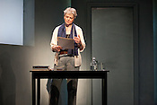 "April 26, 2011. Chapel Hill, NC..Ellen McLaughlin stars as Joan Didion in Playmakers performance of ""The Year of Magical Thinking""."