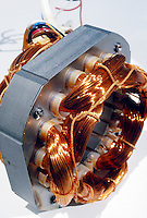 ELECTRIC MOTOR<br /> Coils Of Copper Wire Used In Electric Fan Motor