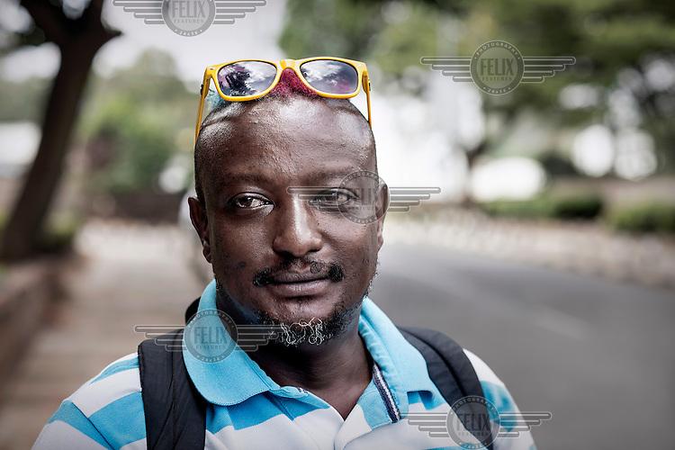 Author and gay rights activist Binyavanga Wainaina.