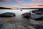 High Coast (Höga kusten), Rotsidan,  Kramfors, Sweden