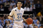 05 January 2015: North Carolina's Justin Jackson. The University of North Carolina Tar Heels played the University of Notre Dame Fighting Irish in an NCAA Division I Men's basketball game at the Dean E. Smith Center in Chapel Hill, North Carolina. Notre Dame won the game 71-70.