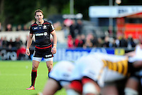 Chris Wyles of Saracens watches a scrum. Aviva Premiership match, between Saracens and Wasps on October 9, 2016 at Allianz Park in London, England. Photo by: Patrick Khachfe / JMP