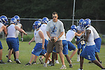 Water Valley football practice in Water Valley, Miss. on Tuesday, August 2, 2011.