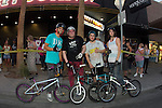 The second annual Hometown Heroes Exhibition  featuring  BMX riders from local amateurs and talented professionals, with raffle, and after party to benefit of the Downtown Boys and Girls Club. with exhibition taking over the Freemont East block of Downtown Las Vegas