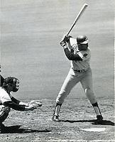 "Orlando Cepeda, nicknamed ""The Baby Bull"" Atlanta Braves 1970..(photo Ron Riesterer/photoshelter)"