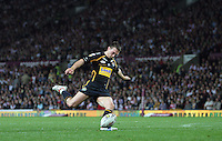 PICTURE BY VAUGHN RIDLEY/SWPIX.COM - Rugby League - Super League Grand Final 2007 - St. Helens Saints v Leeds Rhinos - Old Trafford, Manchester, England - 13/10/07...Copyright - Simon Wilkinson - 07811267706..Leeds Kevin Sinfield.