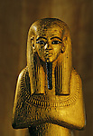 Statue of Duamutef; Gold; wood, KV 62, Tutankhamun and the Golden Age of the Pharaohs, Page 217