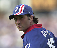 .29/06/2002.Sport - Cricket - .NatWest triangler Series England - Sri Lanka - India.England vs india 50 overs.  Lord's ground.Ronnie Irani..