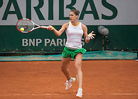ANDREA PETKOVIC (GER)<br /> <br /> Tennis - French Open 2014 -  Toland Garros - Paris -  ATP-WTA - ITF - 2014  - France - <br /> 29 May 2014. <br /> <br /> &copy; AMN IMAGES
