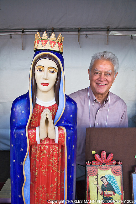 The Santa Fe Spanish Market, held in late July, fills the Santa Fe Plaza with artists, patrons and visitors all celebrating the richness of the Spanish Colonial art tradition side by side with the Contemporary Spanish Art Market.