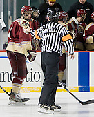 Owen Carpino (Norwich - 4) - The Norwich University Cadets defeated the Babson College Beavers 4-1 on Friday, January 13, 2011, at Fenway Park in Boston, Massachusetts.