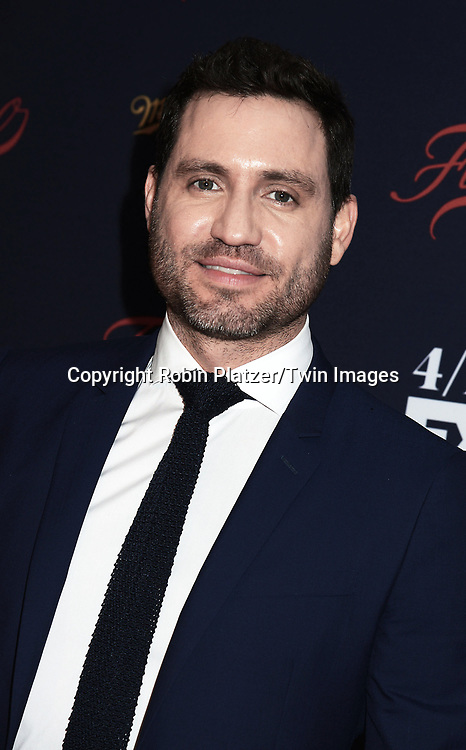 Edgar Ramirez attends FX's 2017 All-Star Upfront on  April 6, 2017 at SVA Theater in New York, New York, USA. <br /> <br /> photo by Robin Platzer/Twin Images<br />  <br /> phone number 212-935-0770