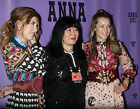 NEW YORK, NY-September 14: Michele Hicks, Anna Sui backstage for  Anna Sui Fashion Show-2016 New York Fashion Week at the Arts Skylight of Moynihan Station in New York. September 14, 2016. Credit:RW/MediaPunch