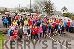 Great support in Waterville for the Jacqui Fitzgerald Memorial 3/5K Fun Run/Walk on New Years Eve with all funds going to the Kerry Hospice.