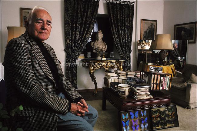 Frederick Prokosch at home.