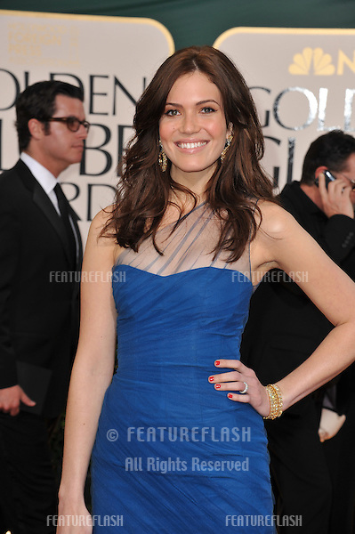 Mandy Moore at the 68th Annual Golden Globe Awards at the Beverly Hilton Hotel..January 16, 2011  Beverly Hills, CA.Picture: Paul Smith / Featureflash