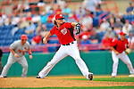 7 March 2012: Washington Nationals pitcher Drew Storen on the mound against the St. Louis Cardinals at Space Coast Stadium in Viera, Florida. The teams battled to a 3-3 tie in Grapefruit League Spring Training action. Mandatory Credit: Ed Wolfstein Photo
