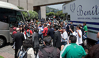 .USA Men's National Team loses to Mexico 2-1, August 12, 2009 at Estadio Azteca, Mexico City, Mexico. .   .