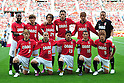 Urawa Reds team group line-up, MAY 15th, 2011 - Football : Yosuke Kashiwagi, Genki Haraguchi, Matthew Spiranovic, Mitsuru Nagata, (Bottom row - L to R) Tomoya Ugajin, Keita Suzuki, 2011 J.League Division 1 match between Urawa Red Diamonds 1-1 Cerezo Osaka at Saitama Stadium 2002 in Saitama, Japan. (Photo by AFLO).