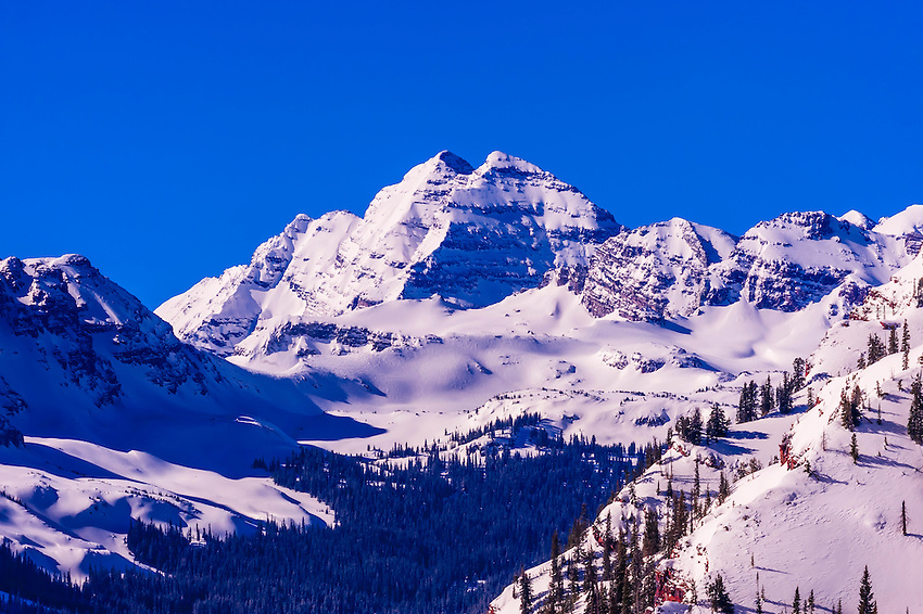 USA-Colorado-Aspen/Snowmass-Winter-Scenery
