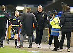Inverness Caley Thistle v St Johnstone....28.03.12   SPL.Terry Butcher and Steve Lomas shake hands at full time.Picture by Graeme Hart..Copyright Perthshire Picture Agency.Tel: 01738 623350  Mobile: 07990 594431