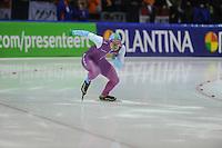 SCHAATSEN: HEERENVEEN: IJsstadion Thialf, 27-12-2015, KPN NK Afstanden, 500m Heren, Jesper Hospes, ©foto Martin de Jong
