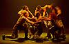 Boy Blue Entertainment <br /> Blak Whyte Gray <br /> at The Barbican Theatre, London, Great Britain <br /> press photocall / rehearsal <br /> 11th January 2016 <br /> <br /> <br /> <br /> Gray - part II <br /> Theo Godson Oloyade <br /> Natasha Gooden <br /> Dan-I Harris-Walters <br /> Nicole McDowall <br /> Idney De' Almeida <br /> Ricardo Da Silva <br /> Gemma Kay Hoddy <br /> Dickson Mbi <br /> <br /> <br /> <br /> <br /> <br /> Photograph by Elliott Franks <br /> Image licensed to Elliott Franks Photography Services