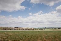 stretched peloton<br /> <br /> 103rd Li&egrave;ge-Bastogne-Li&egrave;ge 2017 (1.UWT)<br /> One Day Race: Li&egrave;ge &rsaquo; Ans (258km)