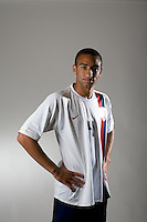 Amaechi Igwe. U20 men's national team portrait photoshoot before the start of the FIFA U-20 World Cup in Canada. June 22, 2007.
