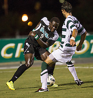 Number 8 ranked Charlotte beats number 16 ranked Coastal Carolina 1-0 on a goal by Thomas Allen in the 101st minute during the second overtime.  Uchenna Uzo (2), Anthony Perez (21)