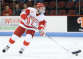 Matt Grzelcyk (BU - 5) - The Boston University Terriers defeated the visiting Providence College Friars 4-2 (EN) on Saturday, December 13, 2012, at Agganis Arena in Boston, Massachusetts.