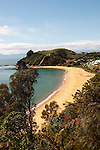 New Zealand, South Island: Beach adjacent to Kaiteriteri along the Abel Tasman National Park coast. Photo copyright Lee Foster. Photo # newzealand124973