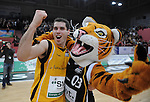 Basketball 1. Bundesliga 2010/11  Walter Tigers Tuebingen  - Alba Berlin