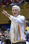 17 December 2014: Duke assistant coach Al Brown. The Duke University Blue Devils hosted the University of Oklahoma Sooners at Cameron Indoor Stadium in Durham, North Carolina in a 2014-15 NCAA Division I Women's Basketball game. Duke won the game 92-72.