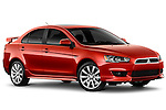 Mitsubishi Lancer Sedan 2010 Stock Photos