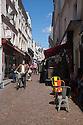 Paris, France. 09.05.2015. Rue Mouffetarde, Paris, France. Photograph © Jane Hobson.