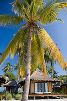 Koh Mook, Thailand, March 2007. The thatched bungalows on the white, palm fringed beach, of Sivilai Resort. Koh Mook is the place to be if one is looking for a quiet retreat in a small island in the Andaman Sea. Photo by Frits Meyst/Adventure4ever.com