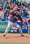 8 March 2015: Boston Red Sox pitcher Brian Johnson on the mound during Spring Training action against the New York Mets at Tradition Field in Port St. Lucie, Florida. The Mets fell to the Red Sox 6-3 in Grapefruit League play. Mandatory Credit: Ed Wolfstein Photo *** RAW (NEF) Image File Available ***