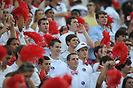 Ole Miss students at Vaught-Hemingway Stadium in Oxford, Miss. on Saturday, September 1, 2012.