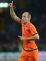 FUSSBALL  EUROPAMEISTERSCHAFT 2012   VORRUNDE Niederlande - Deutschland       13.06.2012 Arjen Robben (Niederlande)