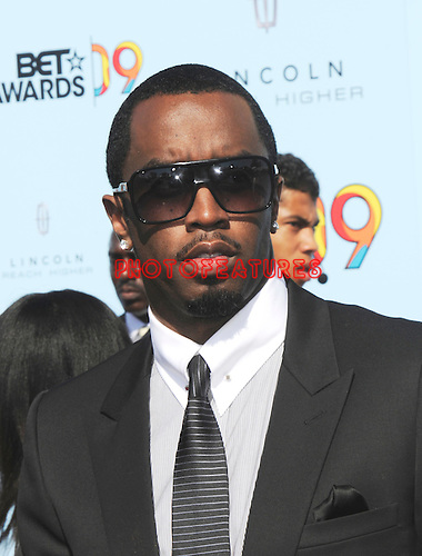 Sean 'P.Diddy&quot; Combsat the 2009 BET Awards at the Shrine Auditorium in Los Angeles on June 28th 2009..Photo by Chris Walter/Photofeatures